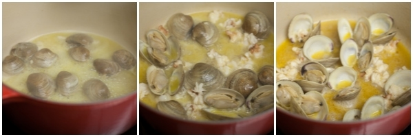 Florida Seafood Pasta in a White Wine Sauce