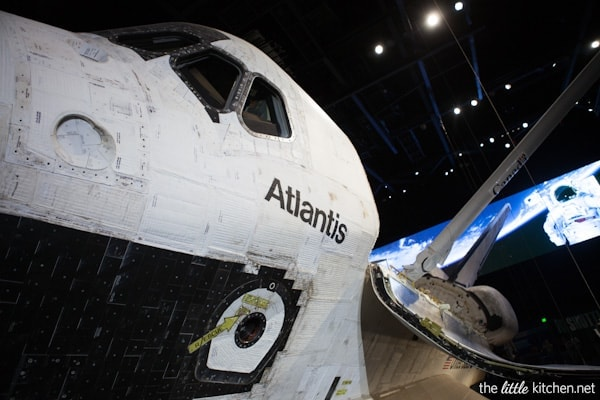 Shuttle Atlantis at Kennedy Space Center Visitor Complex, Florida