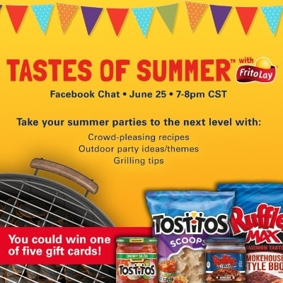 Tastes of Summer with Frito-Lay Facebook Chat