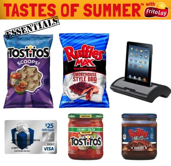 Tastes of Summer with Frito-Lay Giveaway