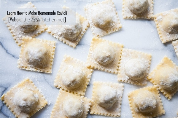 How to Make Homemade Ravioli from thelittlekitchen.net