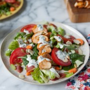 Smoked Paprika Chicken Salad from thelitlekitchen.net