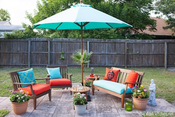 World Market Backyard Makeover