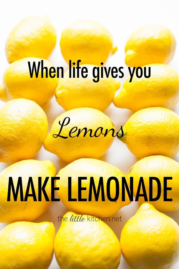 When Life Gives You Lemons... from thelittlekitchen.net