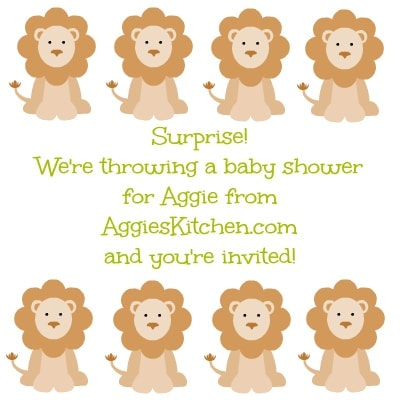 Aggie's Virtual Baby Shower