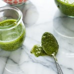 How to Make Pesto from thelittlekitchen.net