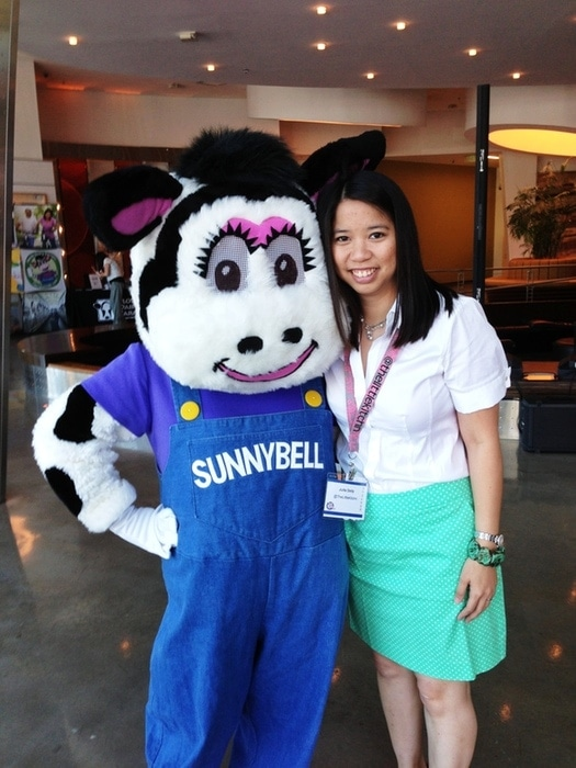 Sunnybell and I at Florida BlogCon