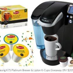 Keurig & Lipton K-Cups Giveaway