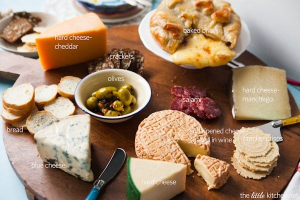 Cheese Spread Diagram from thelittlekitchen.net