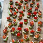 Greek Salad Celery Appetizers from thelittlekitchen.net