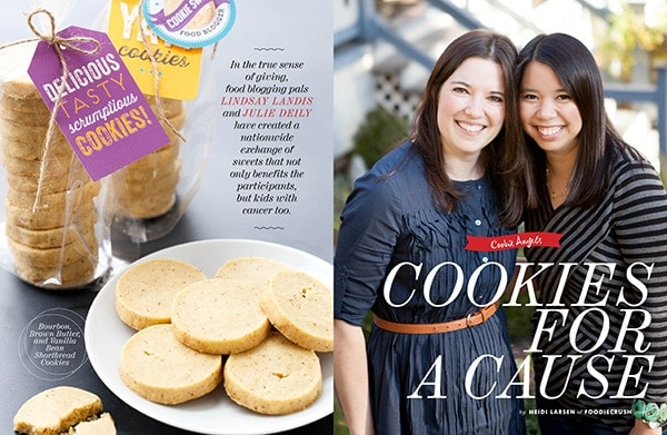 FoodieCrush - Cookie Swap Story Spread