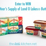 A Year's Supply of Land O Lakes® Butter Giveaway
