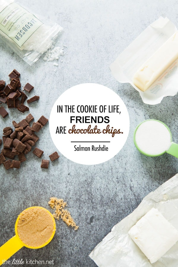 Friends are Chocolate Chips... from thelittlekitchen.net