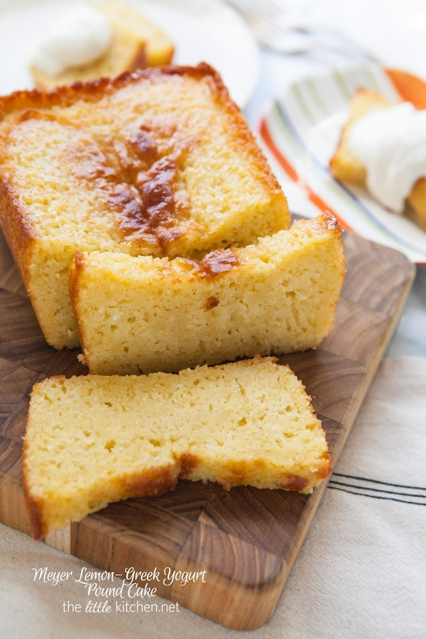 greek yogurt cake meyer lemon yogurt pound cake the kitchen 4606