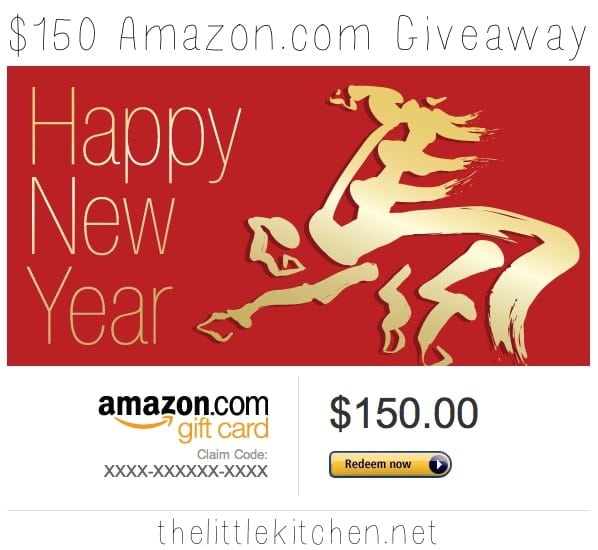 $150 Amazon.com Gift Card Giveaway