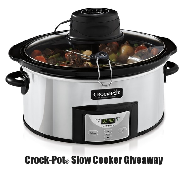 Crock-Pot® Slow Cooker Giveaway from thelittlekitchen.net