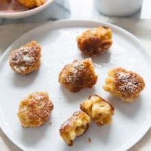 Fried Mac & Cheese Bites from thelittlekitchen.net