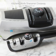 KitchenIQ Knife Sharpener Giveaway from thelittlekitchen.net