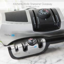 KitchenIQ Knife Sharpener Giveaway from thelittlekitchen.net