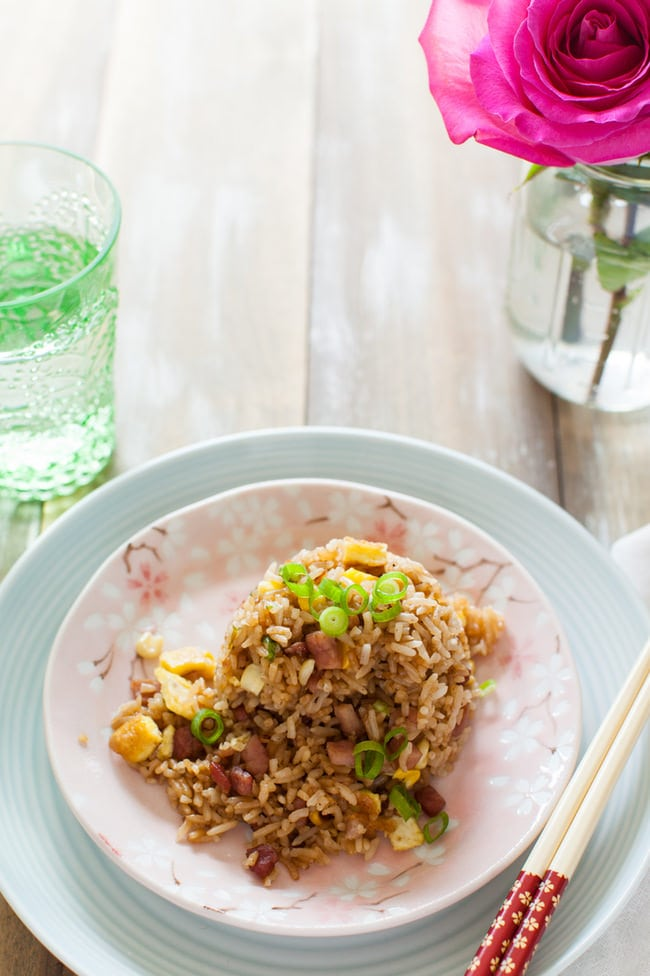 Ham fried rice recipe the little kitchen ham fried rice from thelittlekitchen ccuart Gallery