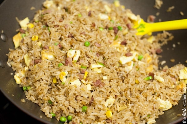 Ham fried rice recipe the little kitchen secret ingredient ham fried rice from thelittlekitchen ccuart Gallery
