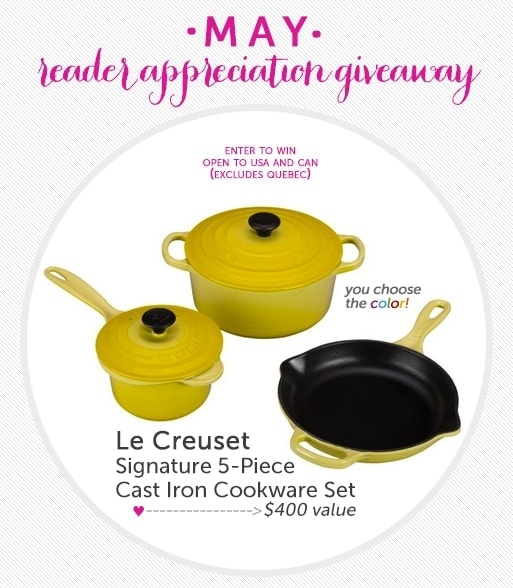 Le Creuset Giveaway