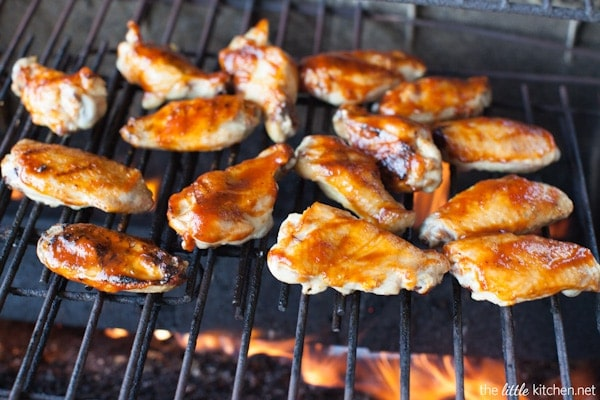 How to Grill Chicken Wings from thelittlekitchen.net