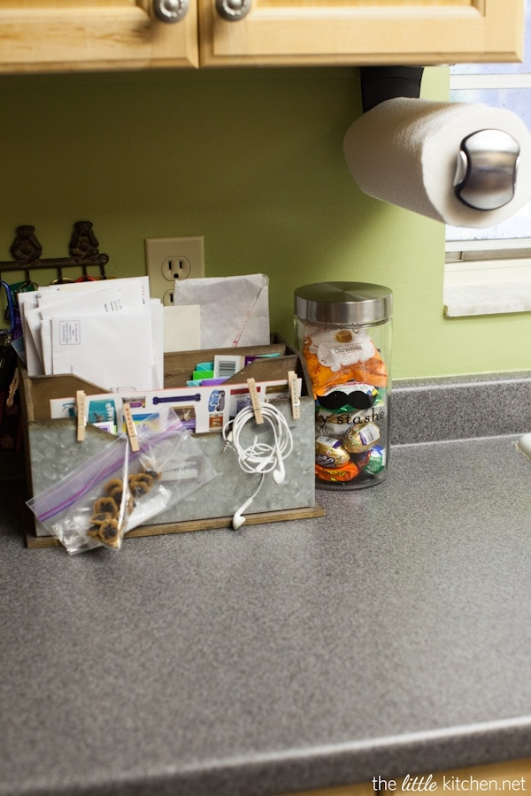 Kitchen Organizing Tip: Use A Great Looking Mail Center To Relieve The  Clutter From Daily