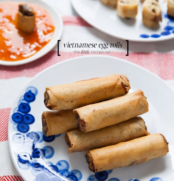 Vietnamese Egg Rolls from thelittlekitchen.net