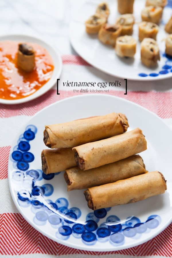 My Mom S Vietnamese Egg Rolls 3 Ways The Little Kitchen