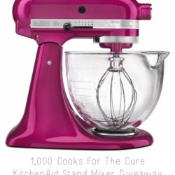 KitchenAid Raspberry Ice Stand Mixer