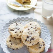 Chocolate Chip Scones from thelittlekitchen.net