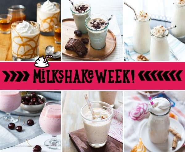 #MilkshakeWeek Collage