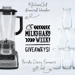 #MilkshakeWeek giveaway!