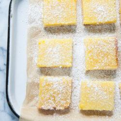 Perfect Lemon Bars from thelittlekitchen.net