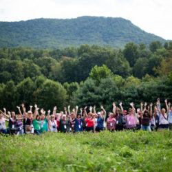 FBF Group at Hickory Nut Gap Farms