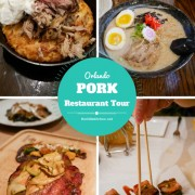 Orlando Restaurant Pork Tour!