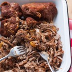 Slow Cooker BBQ Pulled Pork from thelittlekitchen.net