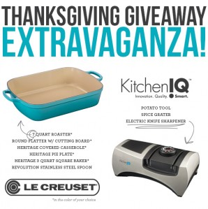 Le Creuset & KitchenIQ Reader Appreciation Thanksgiving Giveaway
