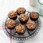 Chocolate Chip Banana Nut Muffins from thelittlekitchen.net