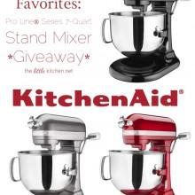 KitchenAid Stand Mixer giveaway