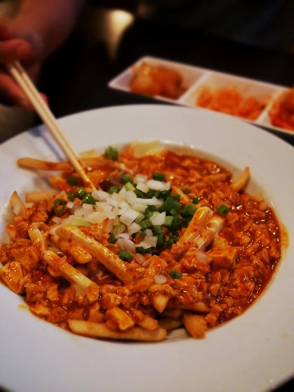 Korean fries