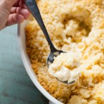 Baked Cauliflower Macaroni & Cheese from thelittlekitchen.net