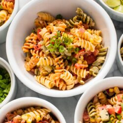 Sriracha Ranch Pasta Salad from thelittlekitchen.net