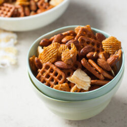 Sweet & Spicy Snack Mix from thelittlekitchen.net