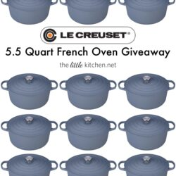Le Creuset French Oven Giveaway The Little Kitchen