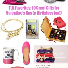 10 Great Gifts for Valentine's Day (and Birthdays too!)