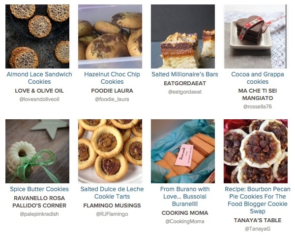 The Great Food Blogger Cookie Swap 2014 Roundup