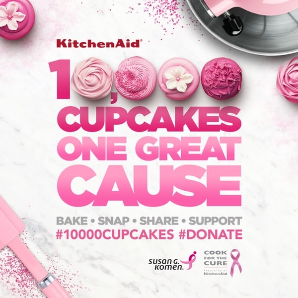 KitchenAid 10,000 cupcakes thelittlekitchen.net