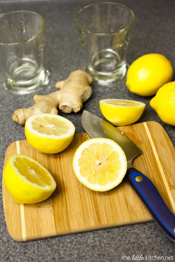 Ginger Lemonade from thelittlekitchen.net